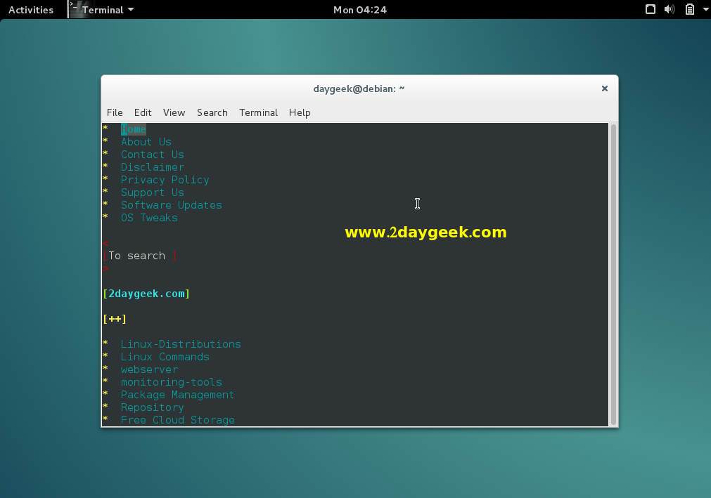 install-text-based-web-browsers-on-linux-netrik