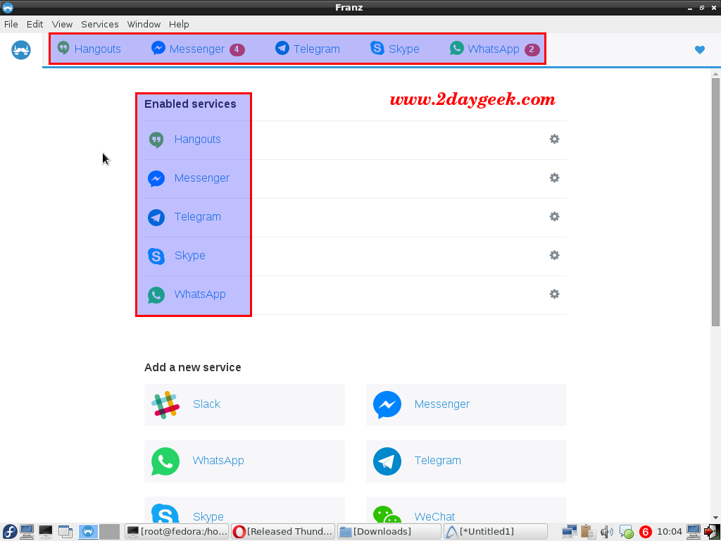 Franz-One-application-for-14-messenger-services-6